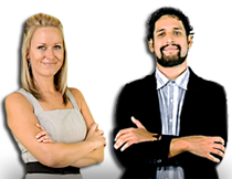We are Emma and José and will accompany you throughout the e-learning modules. Have fun and see you soon!